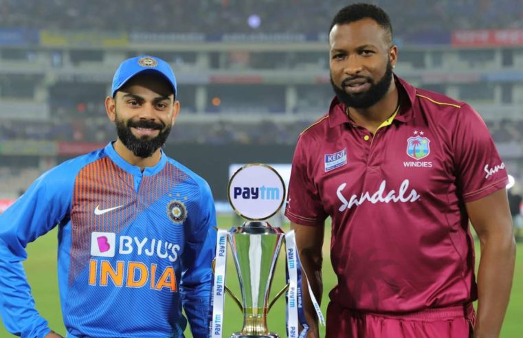 The India Versus West Indies Series